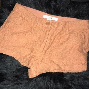 Lacey shorts!